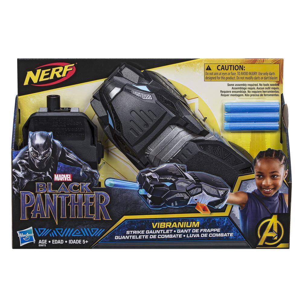 Nerf Черная Пантера Марвел Hasbro Marvel Black Panther Нерф E0872