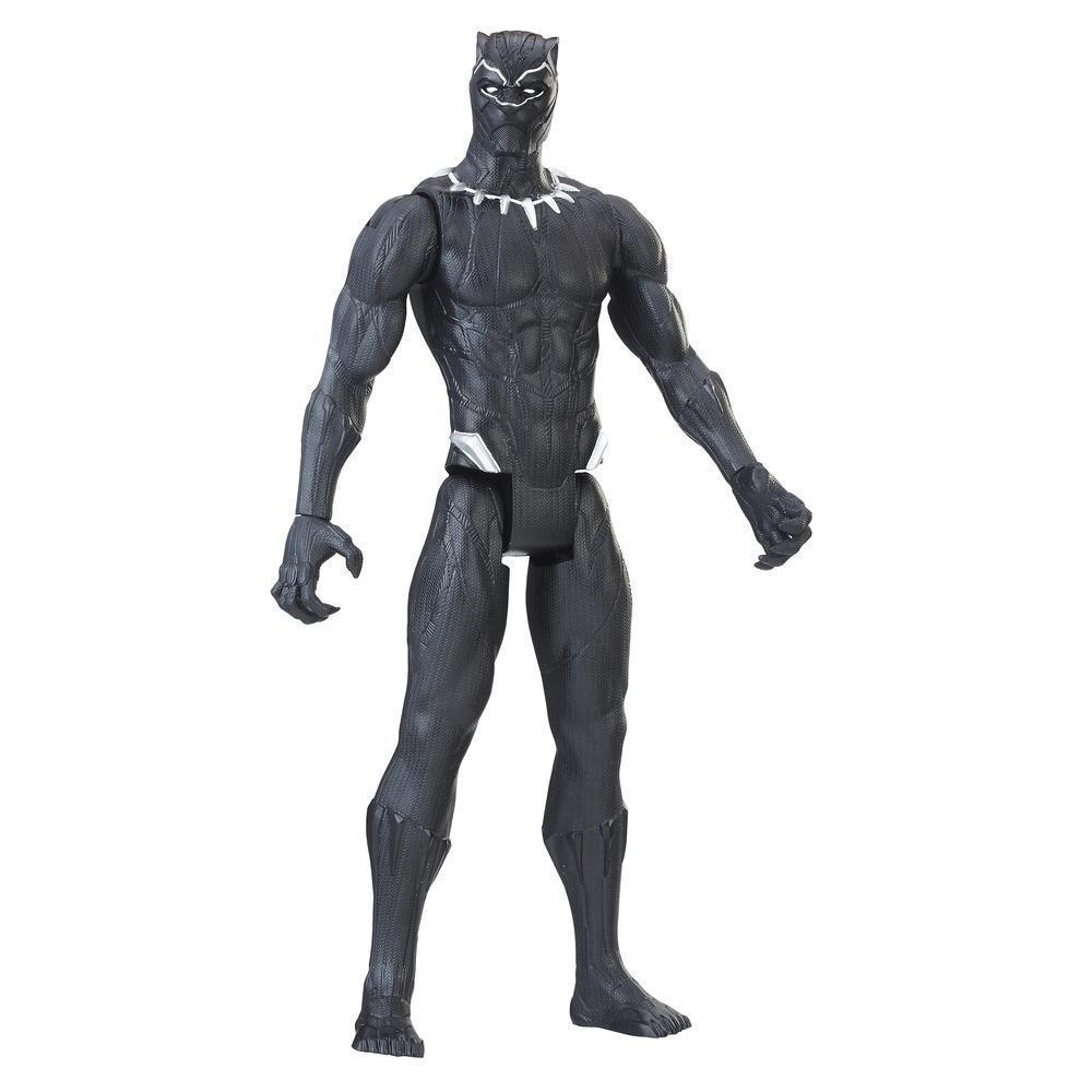 Герой Marvel Black Panther 30 см. Черная Пантера Марвел Hasbro (Мстители) E1363