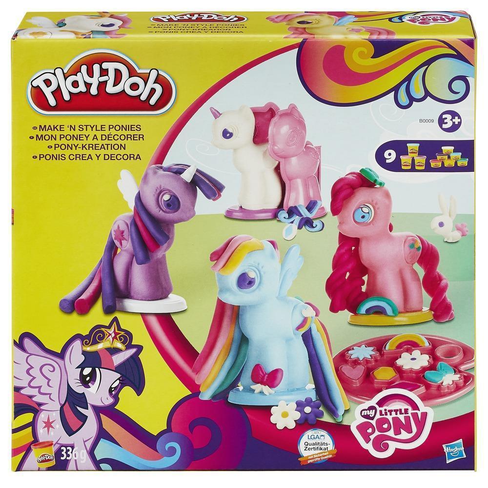 Набор Плей До Пони 5 фигурок Hasbro Play-Doh My Little Pony B0009