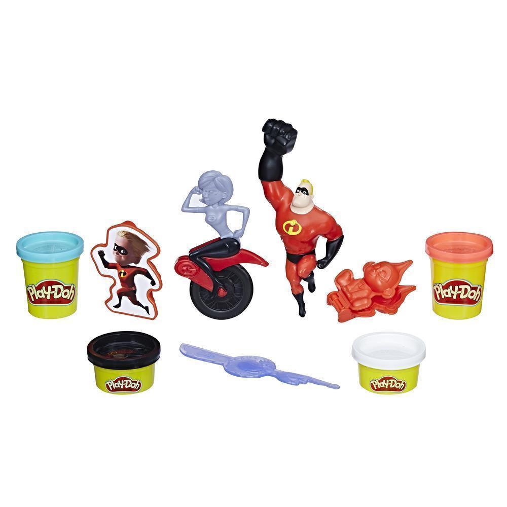 Набор для лепки Плей До Hasbro Супер Семейка 2 Play-Doh Disney Pixar E1939