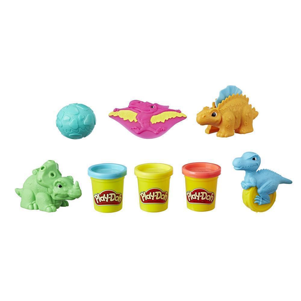 Набор для лепки Плей До Hasbro Play-Doh Dino Tools Дино Тулс Динозавры E1953