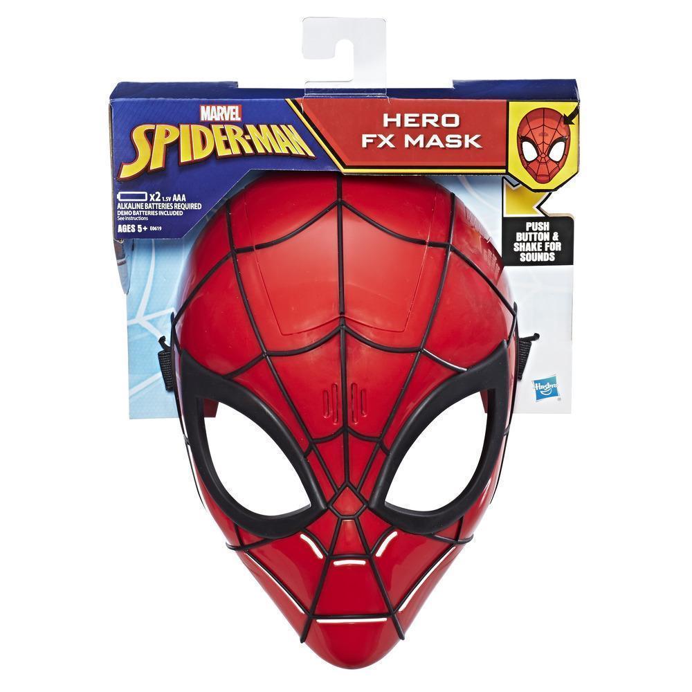 Маска Человек Паук c звуковыми эффектами Hasbro Marvel Spider-Man Mask E0619