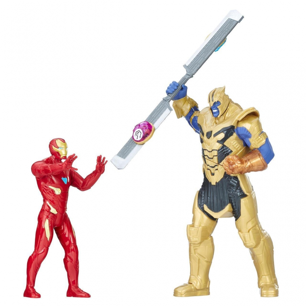 Набор Танос против Железный Человек Hasbro Звук Свет Thanos Iron Man E0559