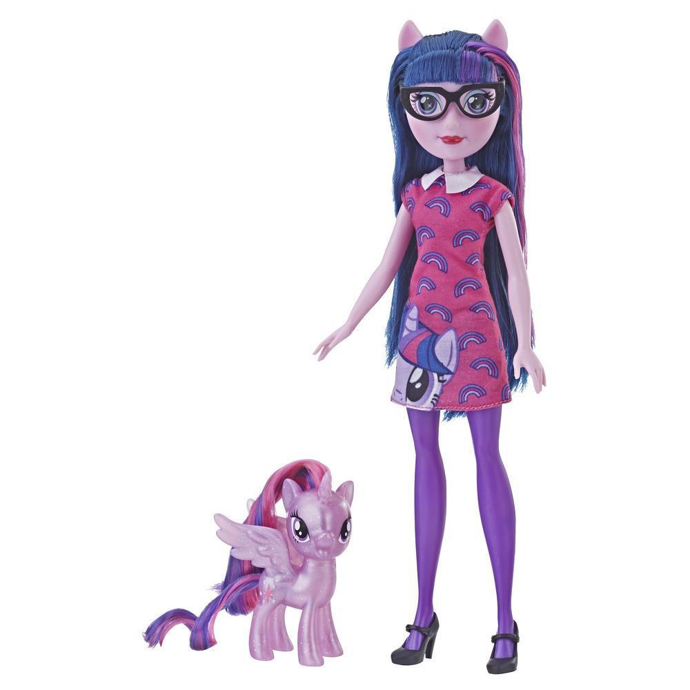 Набор 2в1 Кукла и Пони Твайлайт Спаркл My Little Pony Сумеречная Искорка E5660