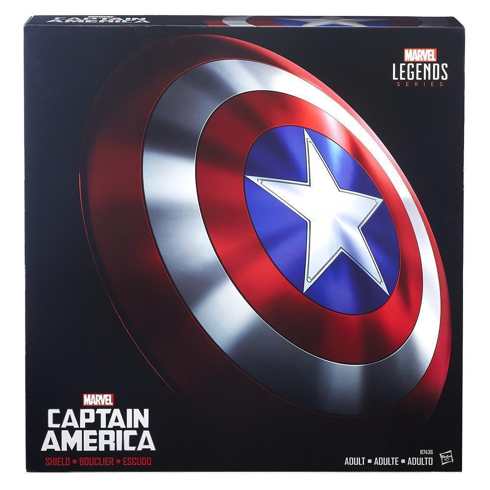 Реалистичный Щит 1:1 Капитана Америка Marvel Legends Series Hasbro E8667