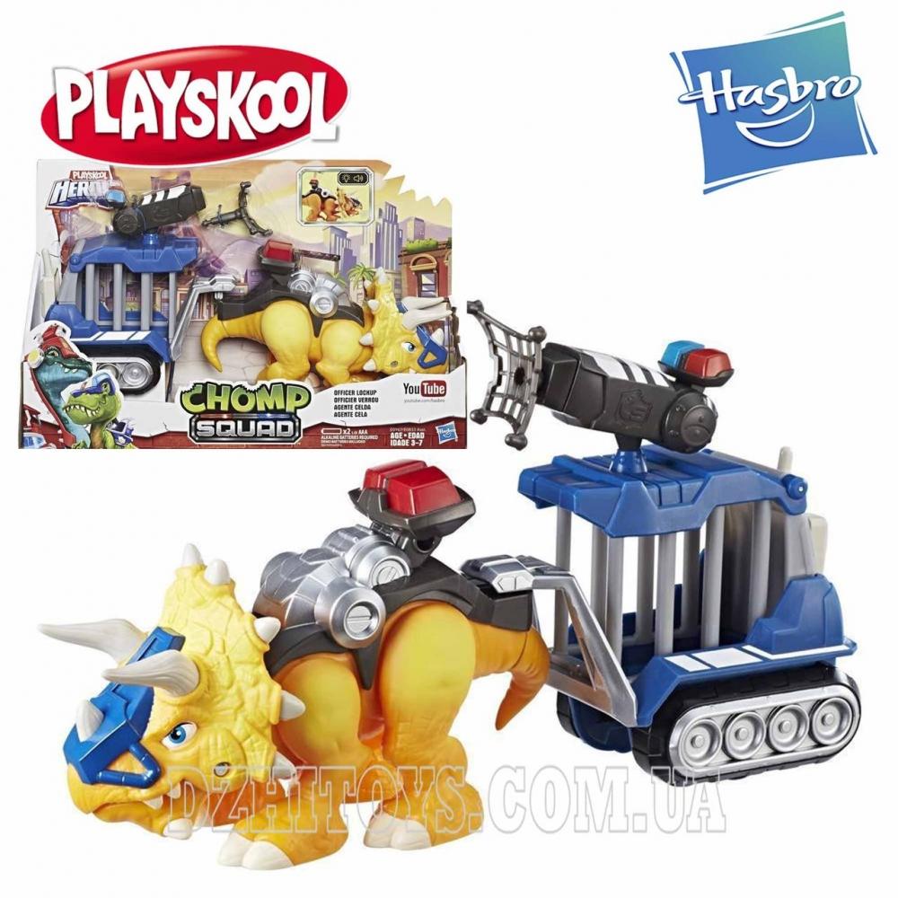 Интерактивный динозавр Офицерский отряд Playskool Heroes оригинал Hasbro E0833