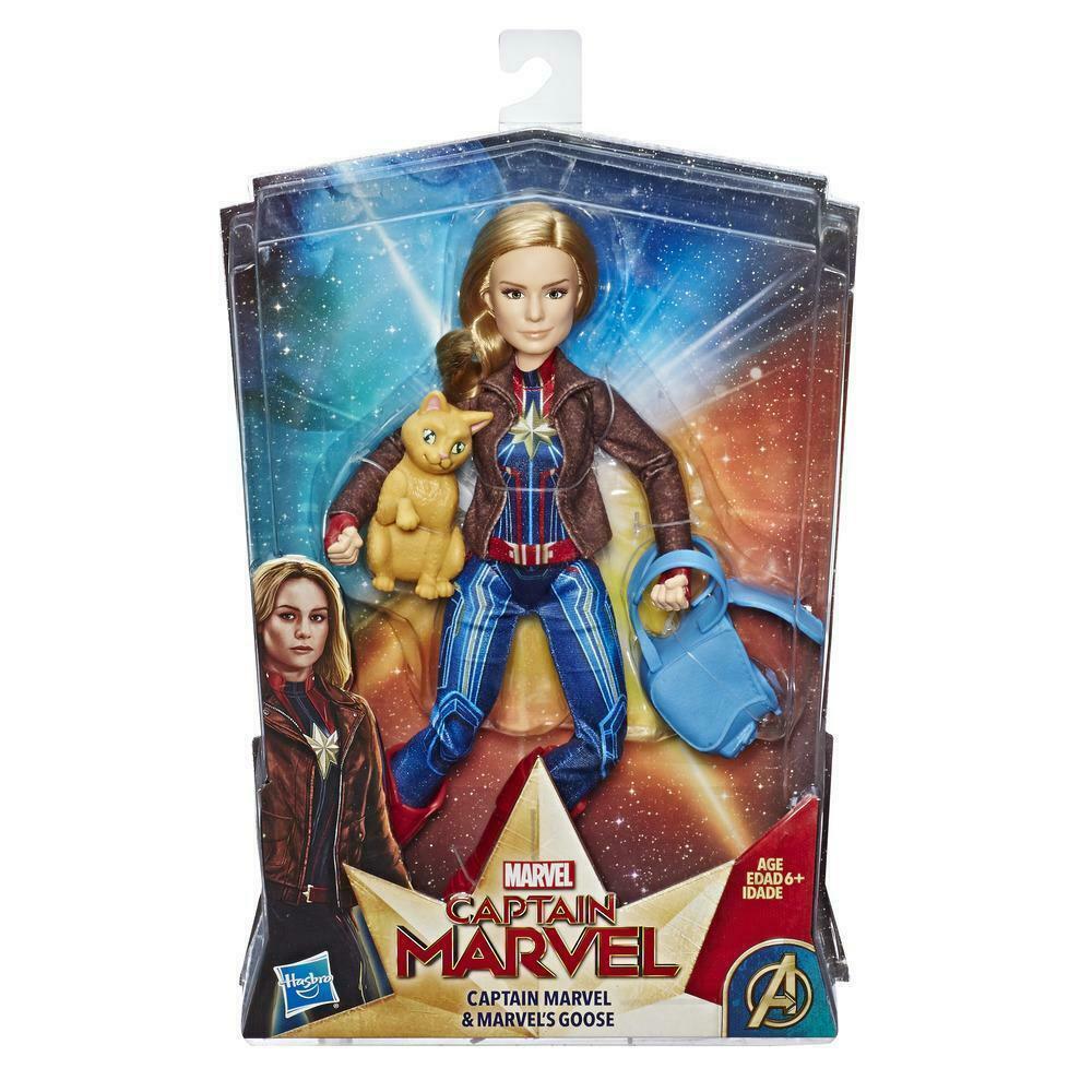 Капитан Марвел 30 см с аксессуарами Фигурка Hasbro Герой  Captain Marlel E4944