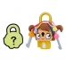 Замочек с секретом Брелок Девочка Lock Stars Cavewoman Hasbro E3103