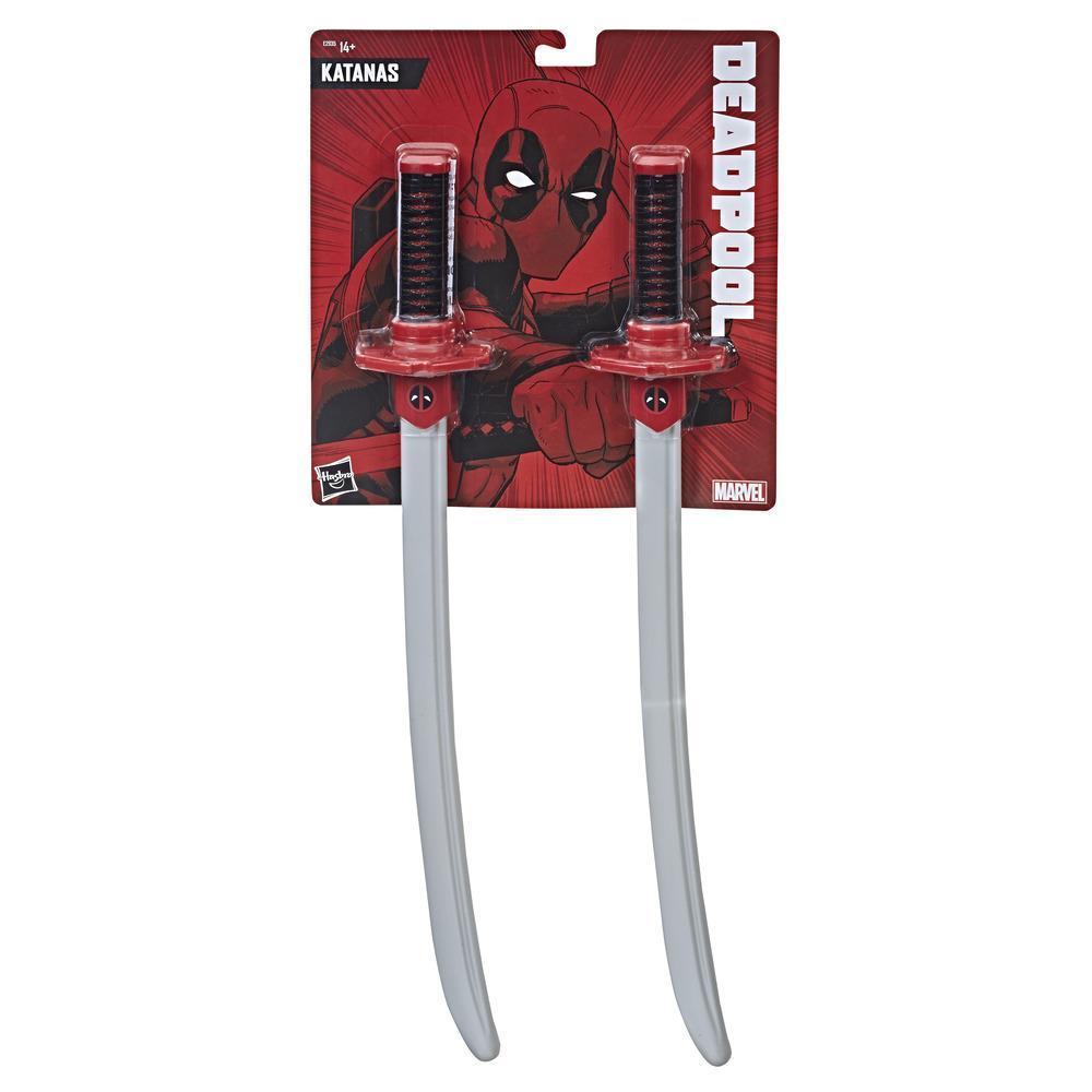 Мечи-катаны Дэдпул Hasbro Герой Марвел Marvel Deadpool Katanas E2935