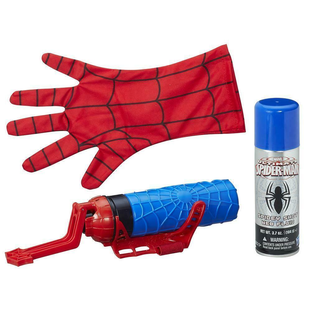 Набор 2в1 Перчатка Человек Паук Стреляет Паутиной Spider-Man Hasbro B9764