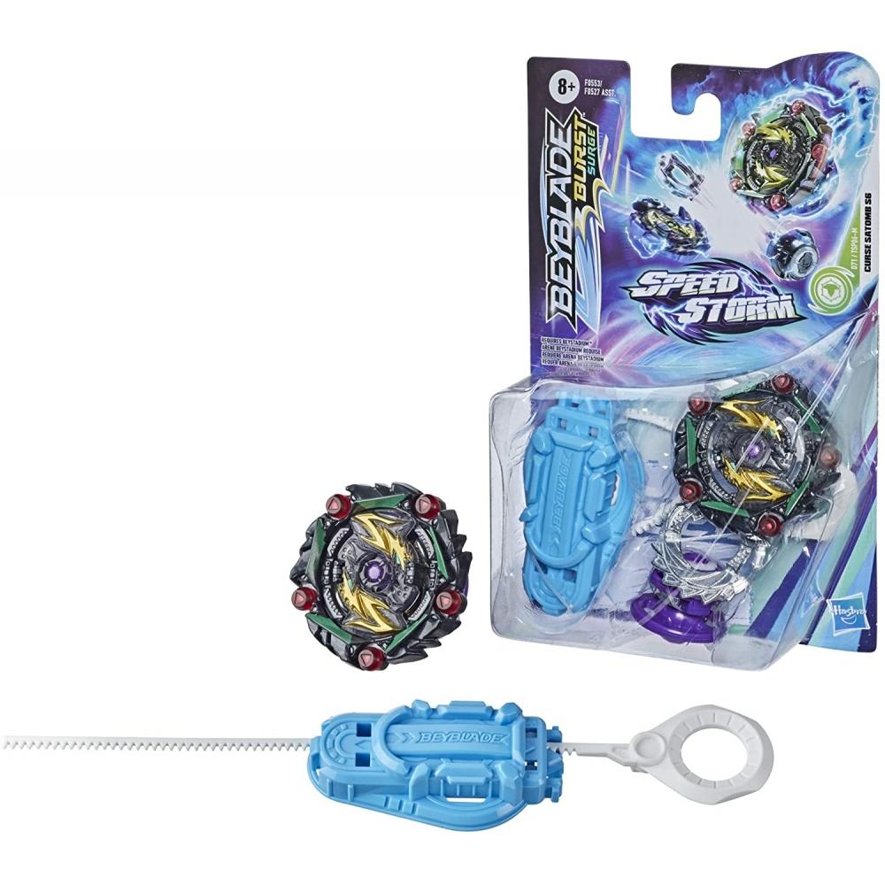 Бейблейд Заклинатель Сатомб S6 Beyblade Speedstorm Curse Satomb S6 Hasbro F0553