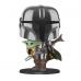 Фигурка Фанко 26 см Мандалорец с Дитя Грогу №380 Star Wars Mandalorian with The Child Funko 49931