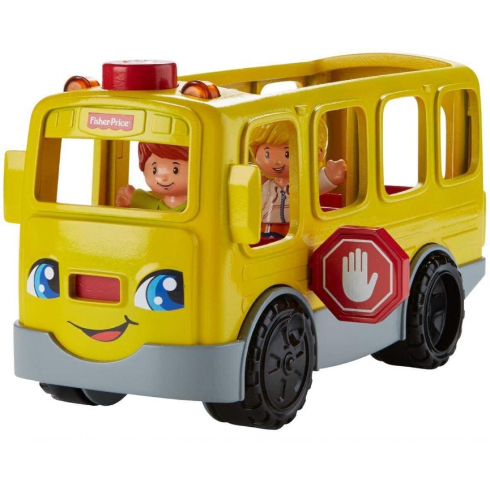 Школьный Автобус с звуковыми и световыми эффектами School Bus Fisher-Price DJB52