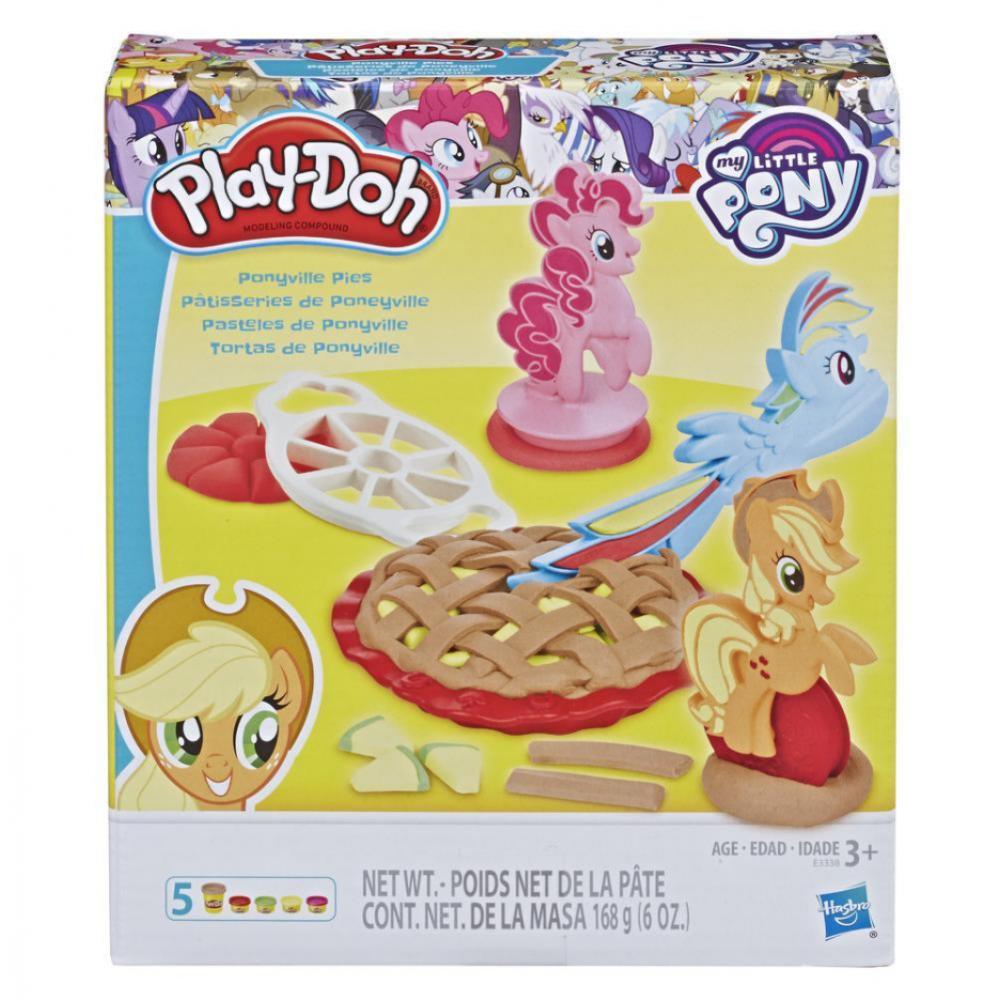 Набор Плей До Пироги Пони Понивиль Play-Doh Ponyville Pies Hasbro E3338