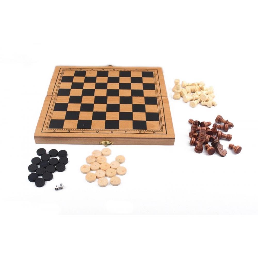 Шахматы дерев. S3023