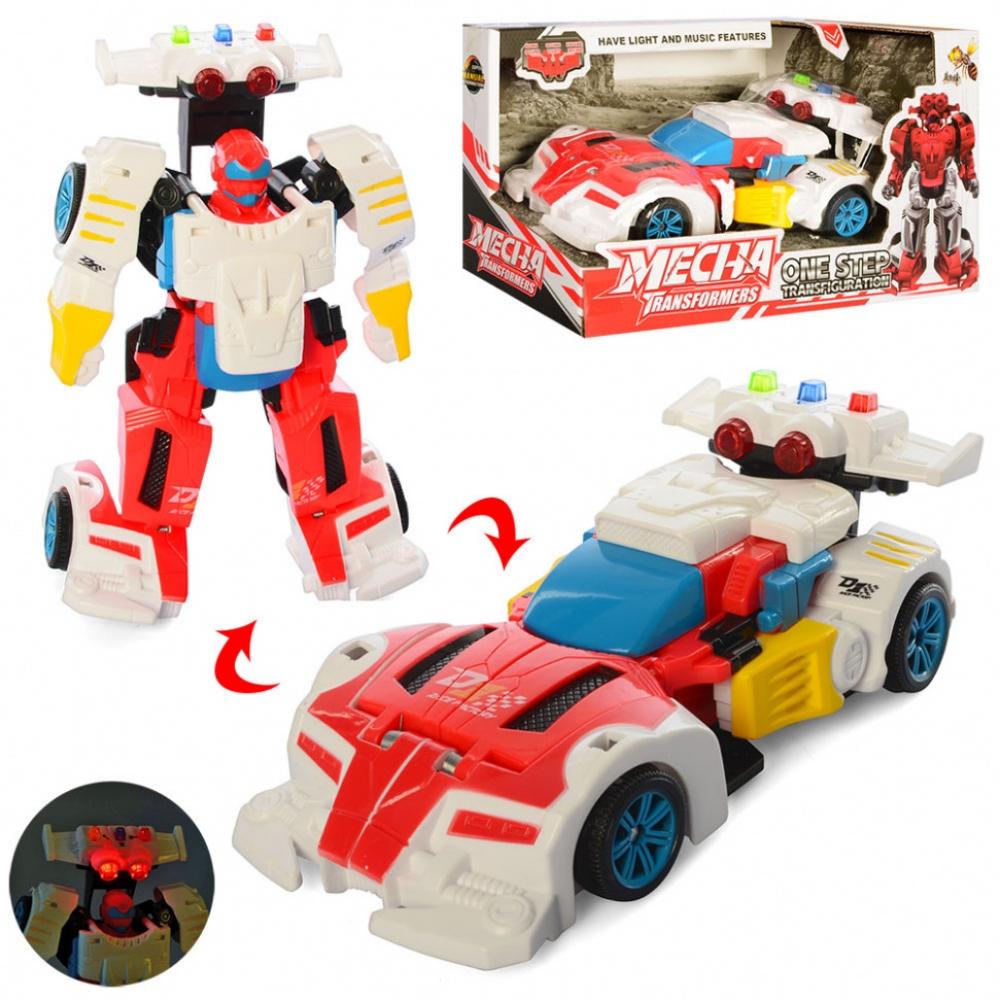 Детский трансформер D622-H04 робот+машинка (Красная )