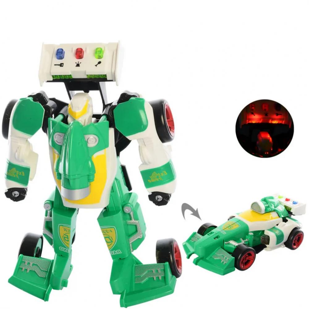 Детский трансформер D622-H05 робот+машинка (Зелёный)
