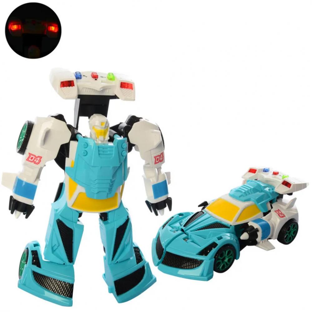 Детский трансформер D622-H05 робот+машинка (Бирюзовый)